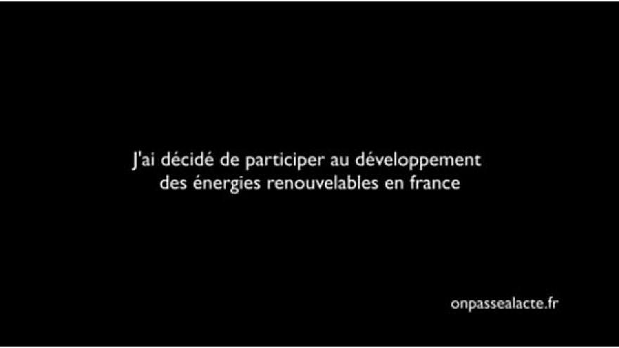 @onpassealacte - Permettre au plus grand nombre de s'approvisionner en #énergie verte #TvLocale_fr
